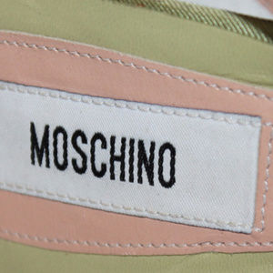 MOSCHINO Shoes - MOSCHINO Italy Strappy Slingback Sandals Heels